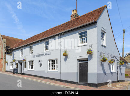 The Pelham Arms public house in Lewes, East Sussex, England, UK. - Stock Photo