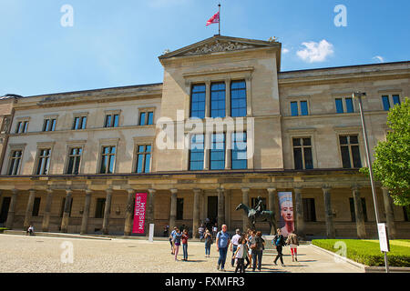 Neues Museum, Berlin, Germany - Stock Photo