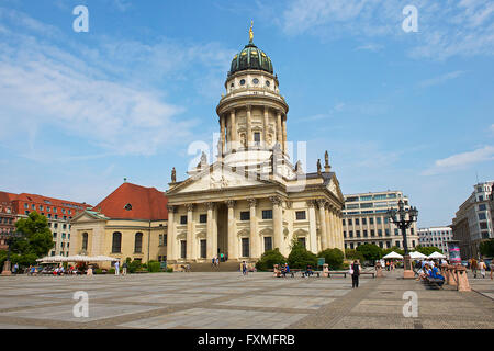 French Cathedral, Berlin, Germany - Stock Photo