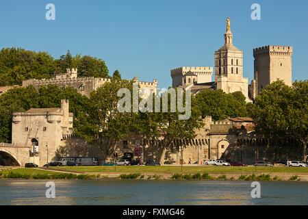 View of Avignon, France - Stock Photo
