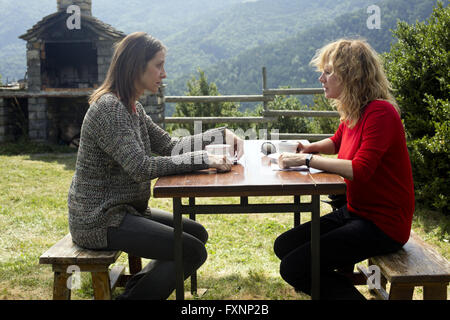 Julieta is a 2016 Spanish film written and directed by Pedro Almodóvar based on three short stories from the book - Stock Photo