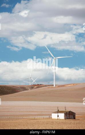 Windfarm, Overberg, Caledon, Western Cape, South Africa.