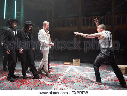 Doctor Faustus by Christopher Marlowe, A Royal Shakespeare Company Production directed by Maria Aberg. With Sandy - Stock Photo