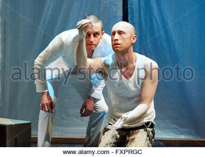 Doctor Faustus by Christopher Marlowe, A Royal Shakespeare Company Production directed by Maria Aberg. With Oliver - Stock Photo