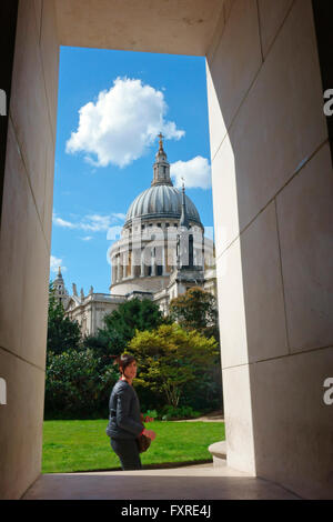 St Paul's Cathedral, London, England, Britain, GB, UK - Stock Photo
