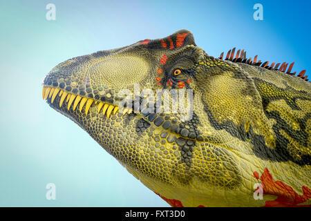 Dinosaur, palaeontology exposition at the University of Rome, La Sapienza, Rome, Italy - Stock Photo