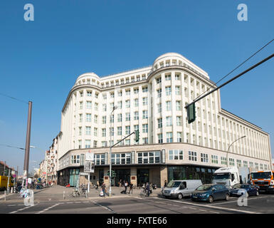 Exterior view of SOHO House hotel in Mitte Berlin Germany - Stock Photo