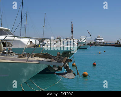 Marina, Hurghada, Aegypten - Stock Photo
