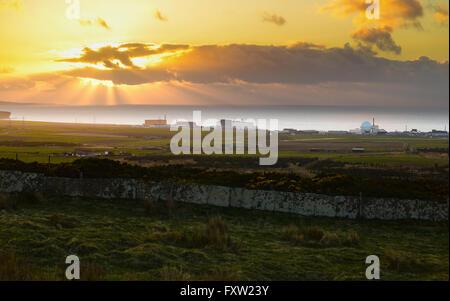 Dounreay nuclear power plant, Caithness, Scotland. - Stock Photo
