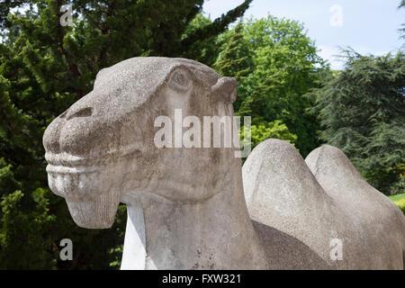 Seattle, Washington: Camel Sculpture at Seattle Asian Art Museum - Stock Photo