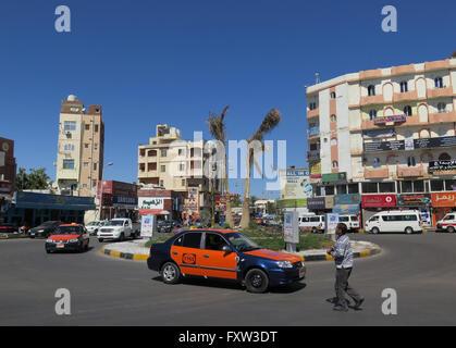 Strassenverkehr, Hurghada, Aegypten - Stock Photo