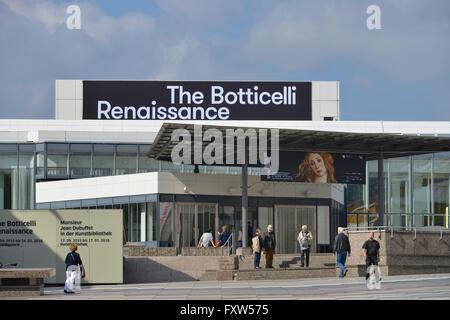 Gemaeldegalerie, Kulturforum, Tiergarten, Mitte, Berlin, Deutschland / Gemäldegalerie - Stock Photo
