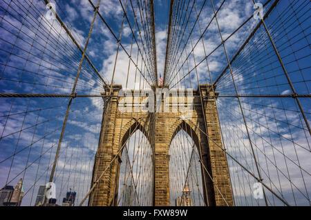 Brooklyn bridge,  New York , USA
