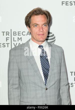 New York, United States. 18th Apr, 2016. Michael Shannon attends premiere of movie Elvis & Nixon during Tribeca - Stock Photo