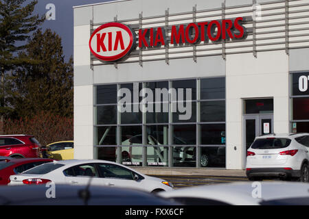 Kia Motors dealership in Kingston, Ont., on Monday Jan. 11, 2016. - Stock Photo