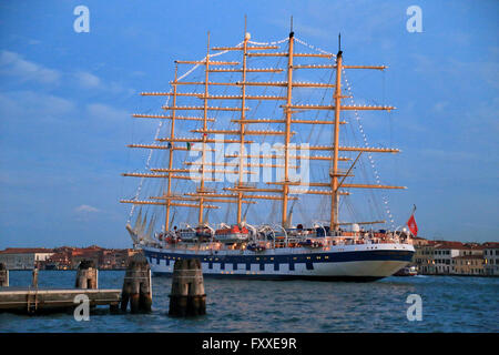 Tall ship Royal Clipper (Star Clippers Ltd.), IMO 8712178 - Stock Photo