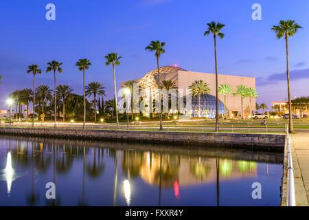 Exterior of the Salvador Dali Museum in St. Petersburg, Florida, USA.