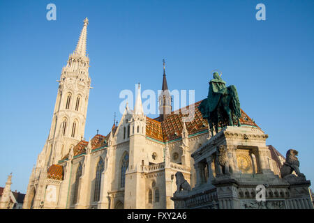 Matthias church, Budapest, Hungary. - Stock Photo
