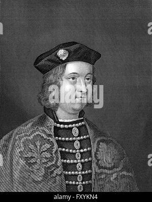 Edward IV, 1442 - 1483, King of England - Stock Photo
