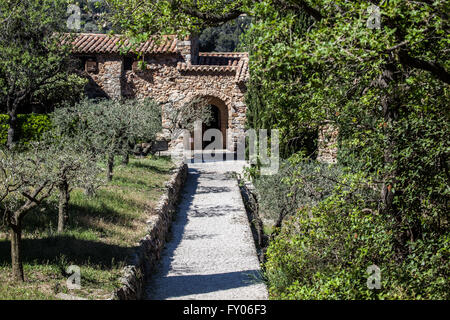 The Chapel of Our Lady of Pépiole (Six-Fours-Les-Plages,Var,France) - Stock Photo