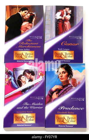 Mills and Boon Historical romance Books - Stock Photo