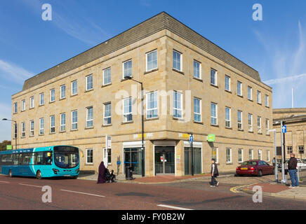 Job Centre Plus building on Black Horse Street, Bolton. - Stock Photo