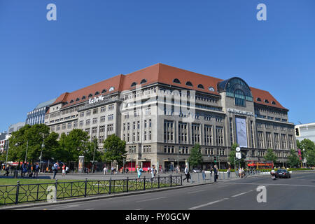 kadewe shop in berlin tauentzienstrasse 21 24 charlottenburg stock photo royalty free image. Black Bedroom Furniture Sets. Home Design Ideas