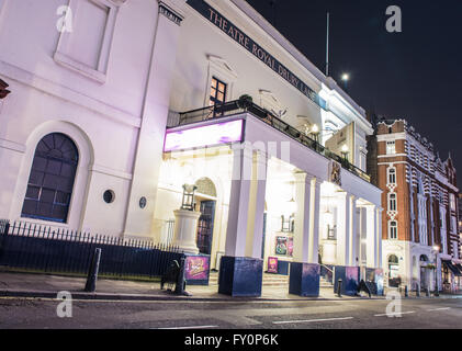 The Theatre Royal, Drury Lane, London at night - Stock Photo