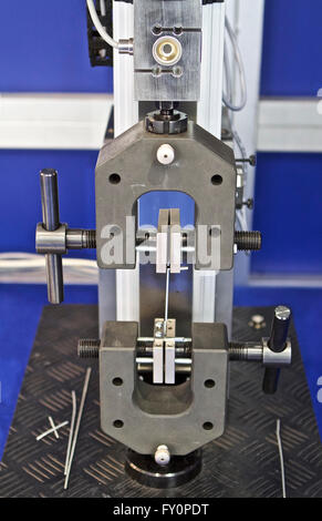 head of the testing machine for various materials - Stock Photo