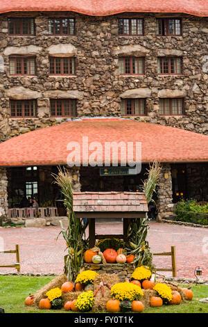 The Omni Grove Park Inn in Asheville, North Carolina. - Stock Photo