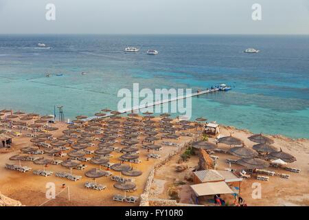 Red Sea coast in Egypt, Sharm el sheikh - Stock Photo