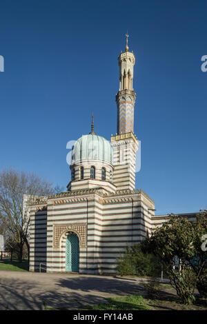 Mosque , Power Station of Fountains , Potsdam, Brandenburg - Stock Photo