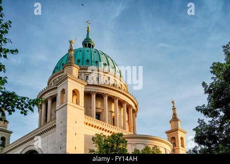 Nikolaikirche, Alter Markt, Potsdam, Brandenburg, Deutschland - Stock Photo