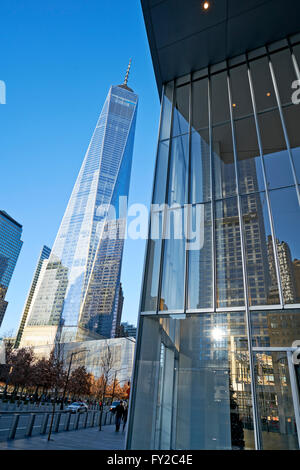 New World Financial Center. New York - Stock Photo