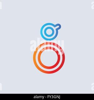 Letter G  logo icon design template vector - Stock Photo