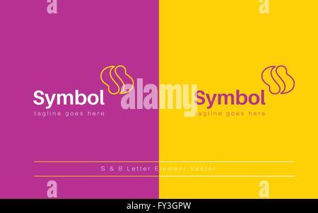Letter S  logo icon design template elements vector - Stock Photo