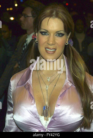 File. 20th Apr, 2016. CHYNA, wrestler and actress, was found dead Wednesday in her Redondo Beach home, no cause - Stock Photo