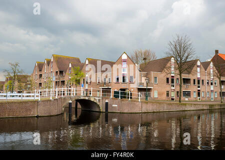 architecture in the eighties in the Netherlands - Stock Photo
