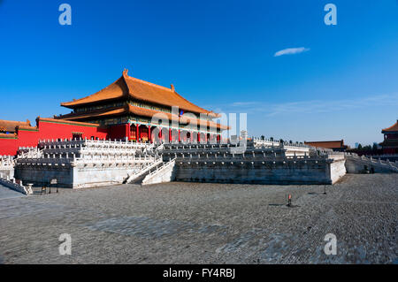 The Imperial Palace is the most famous travel sites in China. This is the biggest palace in the Imperial Palace - Stock Photo