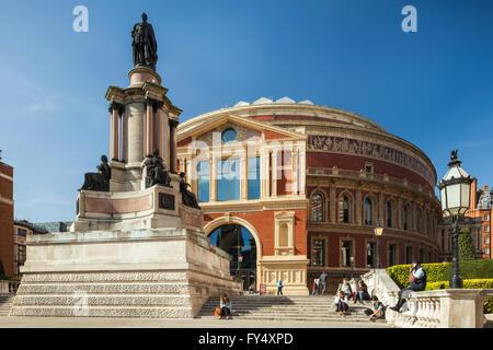 Royal Albert Hall in Kensington, London, England. - Stock Photo