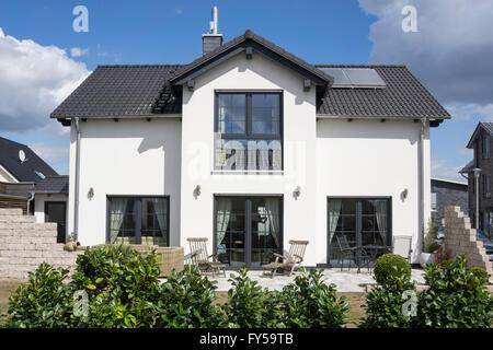 In House Dortmund family house in hohenbuschei development area brackel stock