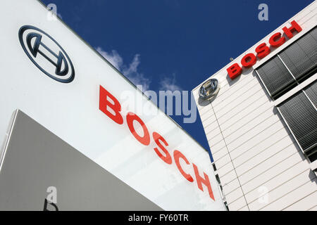 bosch security logo. the photo shows bosch company logo security
