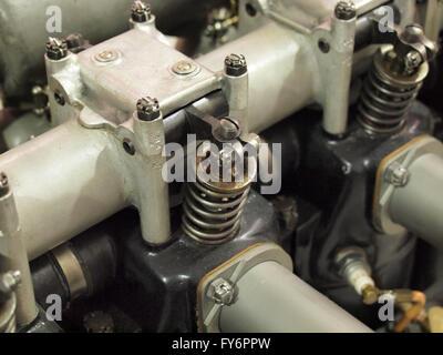 piston diesel engine  cross section  car close   piston stock photo  alamy