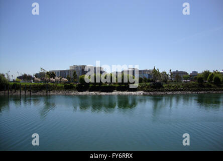 Mission Creek in San Francisco, California - Stock Photo