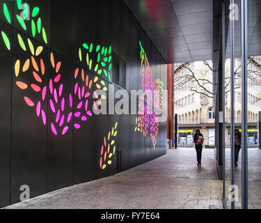 Stuttgart, Baden Wurttemberg, Germany. State Art Gallery (Arch Stock Photo, Royalty Free Image ...