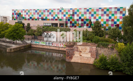 Museum of Modern and Contemporary Art, Strasbourg, Alsace, France - Stock Photo