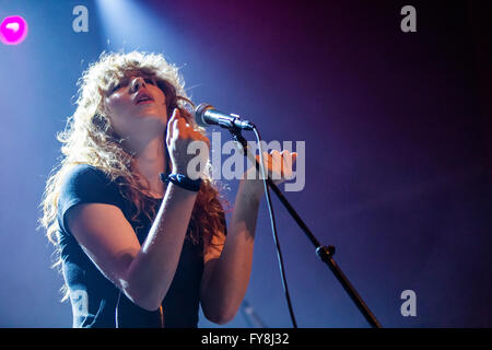 Grace Mitchell opening for Vince Staples @ The Vogue Theatre in Vancouver, BC on March 1st 2016 - Stock Photo