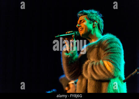 Chad King of A Great Big World @ The Rio Theatre - March 24th 2016 - Stock Photo