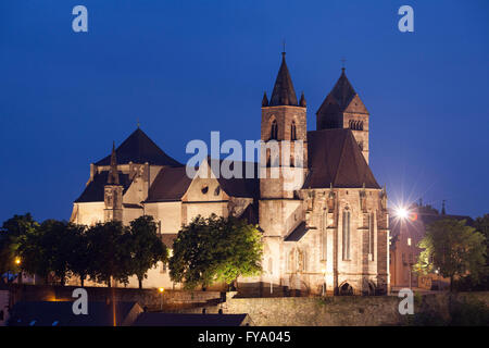 St. Stephansmünster Cathedral, Breisach am Rhein, Upper Rhine, Baden-Württemberg, Germany - Stock Photo