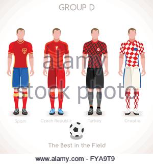 Infographic Ideas infographic soccer : France Euro 2016 Championship Infographic Qualified Soccer Players ...
